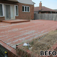 Deck and Fence Painting Specialists!