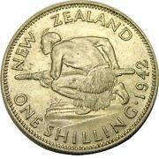 1942 New Zealand Shilling