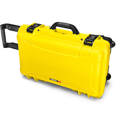 Nanuk 935 Plastic Hard Case With Padded Dividers Yellow