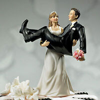 Bride Holding Groom Wedding Topper - 50% OFF