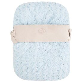 Mayoral baby blue car seat cover foot muff, Group 0