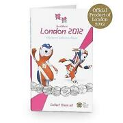 Olympic 50p Coin Album