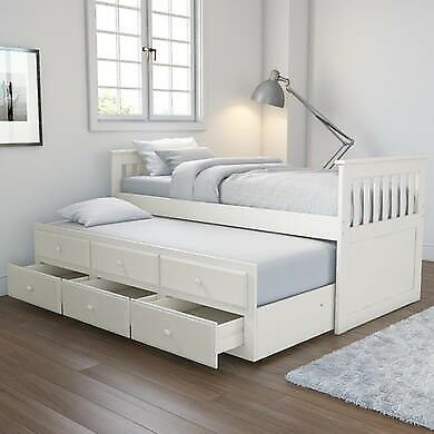 Ikea single double day bedguest bed double loft bed for for Ikea day bed double