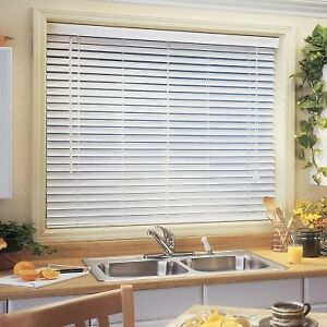 BLINDS - Faux Wood 70-1/2 x 64""
