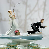 Fishing Couple Cake Topper - 50% OFF