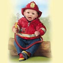 ASHTON DRAKE SO TRULY REAL MARC LITTLE FIREFIGHTER ARTIST DOLL Stratton Swan Area Preview