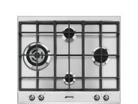 Brand new Smeg P361XGH 60CM Kitchen Hob with 4 Burners, diamond position