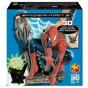 SPIDER-MAN 3 3D POSTER PUZZLE BRAND NEW