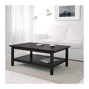 Ikea HEMNES Coffee Table and 2 End Tables