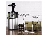 electriQ VRTSL150 Professional Slow Masticating Juicer juice press