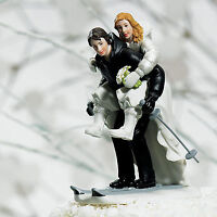 Skiing Wedding Cake Topper - 50% OFF