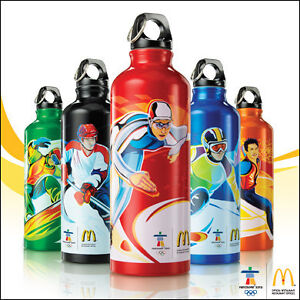 Vancouver 2010 Olympic Sport water bottle (McDonald's 2010)