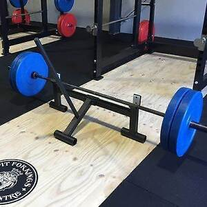 Double barbell Deadlift Jack GYM- Good Condition Pearsall Wanneroo Area Preview