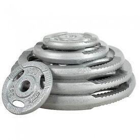 Brand New Standard Weight Plates £1.50/kg! *10KG - 1.25KG* (weights gym)