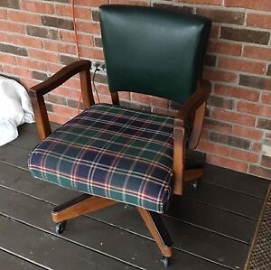 Antique Office Chair  For Sale $50