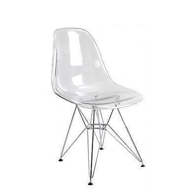 Clear Plastic Chair Ebay