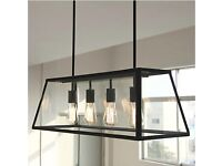 4-Bulb Pendant Light