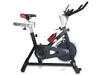 XS Sports Aerobic Indoor Training Exercise Bike-Fitness Cardio Home Cycling Racing-15kg Flywheel