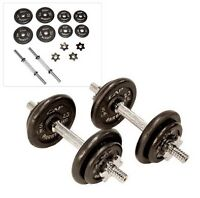 CAP 40 pound adjustable dumbbell set with case
