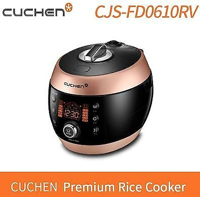 [CUCHEN] CJS-FD0610RV Pressure Rice Cooker 6 Servings Voice Guide