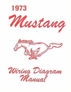 1973 Ford Mustang Wiring Diagram