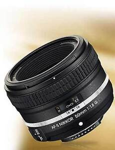 Nikon 50mm f/1.8G Special Edition