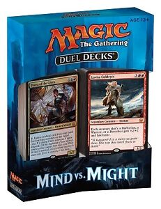 MTG Magic The Gathering Mind vs Might Decks Available Friday
