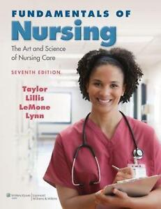 Fundamentals of nursing books ebay fundamentals of nursing taylor fandeluxe Choice Image