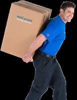 PROFESSIONAL MOVERS SHORT NOTICE OK CALL 1-888-704-4213