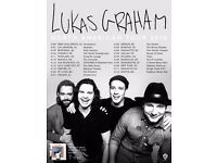 Lukas Graham - Belfast, Sunday 26th February - FACE VALUE TICKET £22.50
