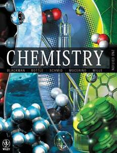 Chemistry 2nd Edition By Blackman, Bottle, Schmid, Mocerino, Will Brinsmead Cairns City Preview