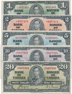 Buying Banknotes, Canada, USA + World at Maritime Gold&Silver