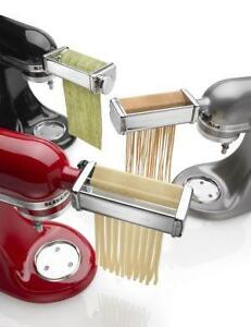 KitchenAid Pasta Roller | eBay on bucatini pasta press, pasta hand press, torchio pasta press, different pasta press, homemade pasta press, stainless steel pasta press, wooden pasta press,