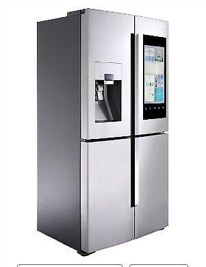 Brand new boxed sealed Samsung Family Hub™ RF56M9540SR American Fridge Freezer - Stainless Steel