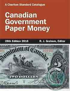 28th Edition Charlton Canadian Governement Paper Money Book