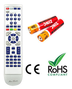 YAMAHA RXV396RDS Remote Control Replacement with 2 free Batteries