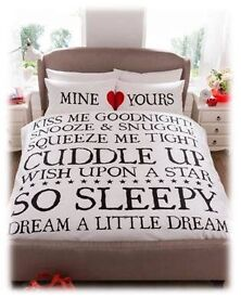 Mine & Yours Duvet Set