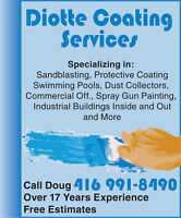 Industrial and Commercial Painting and Sandblasting