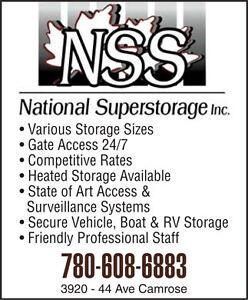 National Super STORAGE Inc. CAMROSE Edmonton Edmonton Area image 3