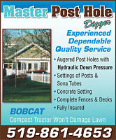Perfect Post Holes with Master Post