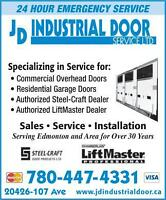 Garage Doors and Openers, Sales and Service