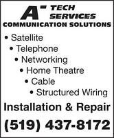 Satellite or Telephone and Internet Installation and repair