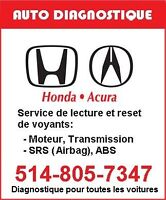Full Diagnostic for HONDA ACURA TOYOTA NISSAN OBD2 and more