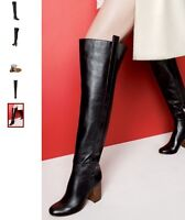 Vince Camuto Leather Signature Over the Knee Boots - Size 7.5