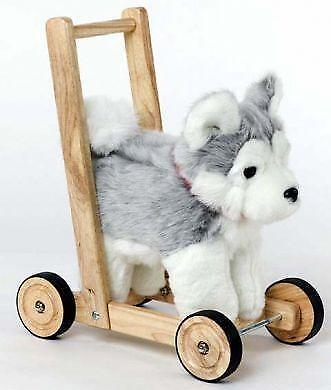 Dog On Wheels Push Along Toy