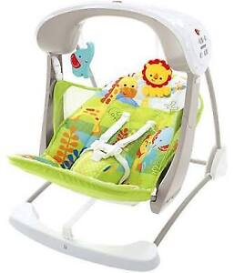 Fisher price portable swing - hardly used