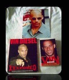 VIN DIESEL BUNDLE - 3 ITEMS - FOR SALE