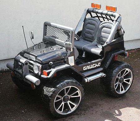 peg perego jeep electric battery powered ebay. Black Bedroom Furniture Sets. Home Design Ideas
