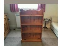 SOLD PINE BOOKCASE
