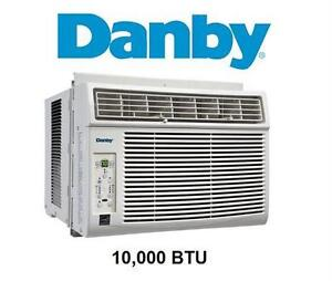 USED* DANBY AIR CONDITIONER WHITE - WINDOW - 10000 BTU heating cooling air quality temperature